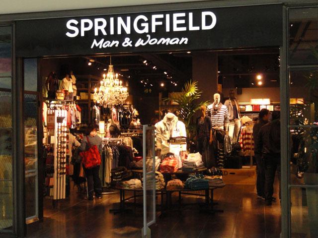 dise o de tiendas de ropa de springfield